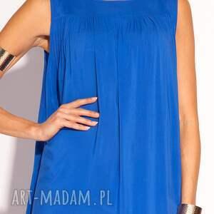 sukienki sukienka maxi typu oversize uszyta z pięknej