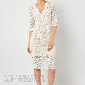 intrygujące sukienki koronkowa przytulia - sukienka