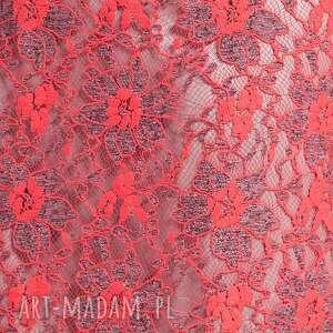 moda sukienki czerwone ramona - sukienka czerwona