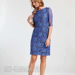 szare sukienki koronka ramona - sukienka chabrowa 38