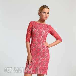 sukienki moda ramona - sukienka czerwona