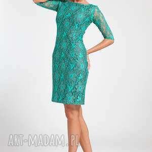 ręcznie wykonane sukienki moda ramona - sukienka zielona