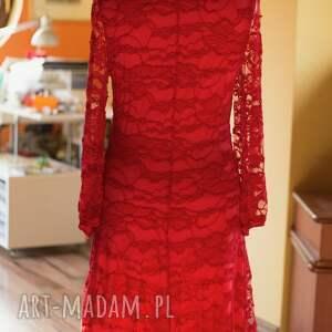 sukienki wieczorowa red dress