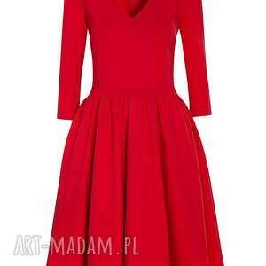 sukienki rozkloszowana sukienka midi
