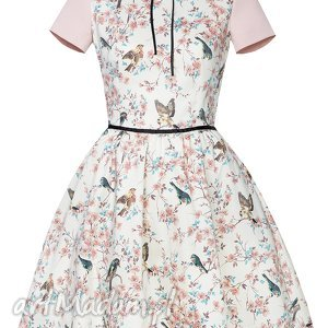 ptaszki sukienki rozkloszowana sukienka
