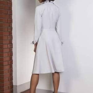sukienki elegancka rozkloszowana sukienka, suk151