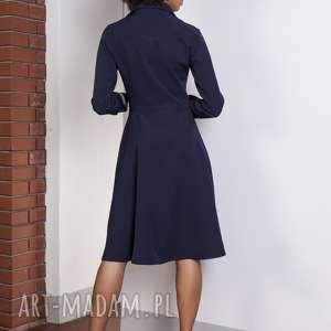 atrakcyjne sukienki elegancka rozkloszowana sukienka, suk151