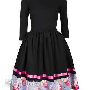 rozkloszowana sukienki sukienka midi