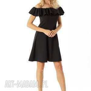 sukienki sukienka koktajlowa rozkloszowana w stylu