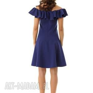 frapujące sukienki sukienka koktajlowa rozkloszowana w stylu