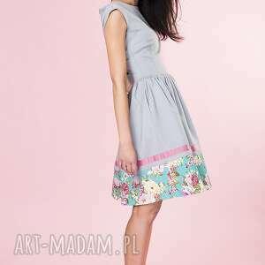 sukienki sukienka rozkloszowana w kwiaty