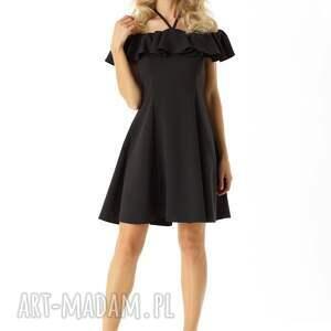 eab521a924 Handmade sukienki - rozkloszowana sukienka w stylu hiszpanki czarna