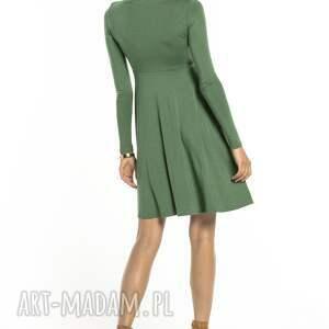 elegancka sukienki sukienka z delikatnej w dotyku