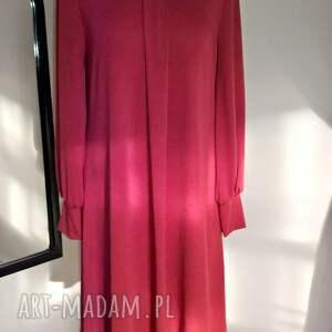sukienki ruda sukienka marion
