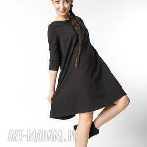 ręcznie wykonane sukienki bawełna s / m sukienka typu klosz wiosenna