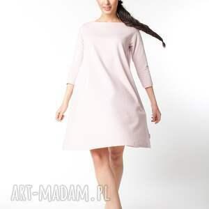 sukienki dzianina s/ m sukienka typu klosz wiosenna