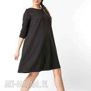 sukienki dzianina s / m sukienka typu klosz wiosenna