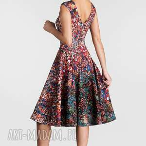 gustowne sukienki sukienka na wesele scarlett midi celestia