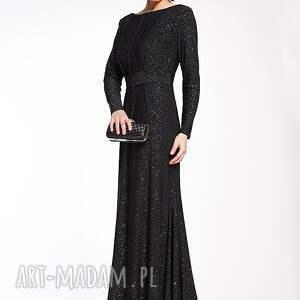 czarne sukienki sylwester schantell - suknia wieczorowa 38