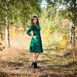sukienki kieszenie sofi sukienka rozkloszowana