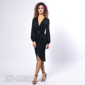 sukienka elastyczna sukienki sophia - black night