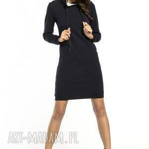 trendy sukienki sportowa sukienka z kapturem, t292