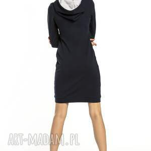 sukienka sukienki sportowa z kapturem, t292