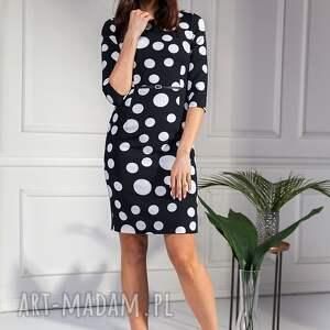 atrakcyjne sukienki grochy sukienka agostina