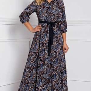 brązowe sukienki długa sukienka alana maxi andrea
