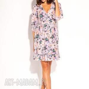 trendy sukienki letnia romantyczna sukienka uszyta z lekko