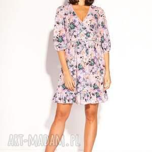letnia sukienki różowe sukienka alana