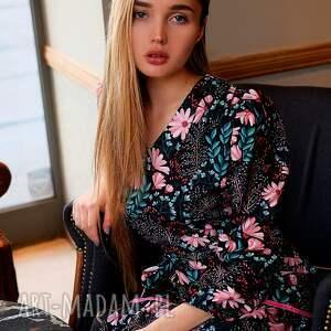 sukienki kolorowa-sukienka sukienka alice spring flowers