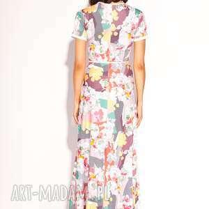 maxi sukienki białe sukienka aliz
