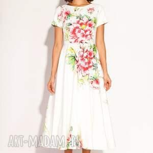białe sukienki poprawiny sukienka amarilla