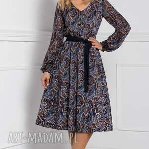 intrygujące sukienki sukienka midi amber andrea