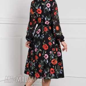 niebanalne sukienki sukienka midi amber marianna