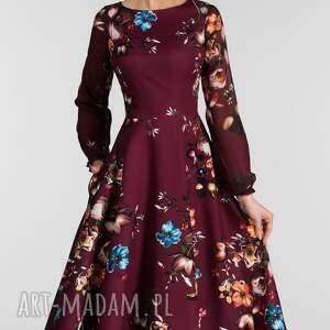 modne sukienki sukienka aniela total midi rebecka