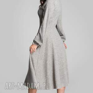 niekonwencjonalne sukienki sukienka total midi aniela melanż