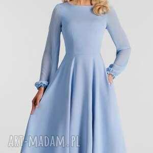 sukienki total midi sukienka aniela
