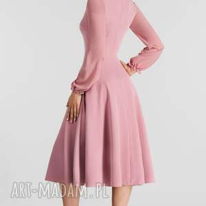 sukienki total midi sukienka aniela brudny