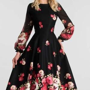 czerwone total midi sukienka aniela izabella