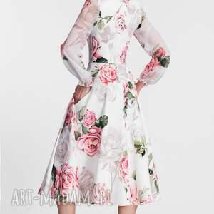 sukienki: sukienka aniela total midi rosanna