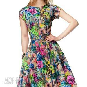 sukienki letnia sukienka april midi aisza