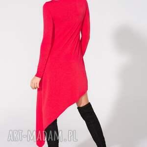 unikalne sukienki sukienka asymetryczna, t152