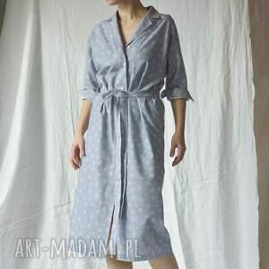 awangardowe sukienki bawełna sukienka bawełniana w kaktusy