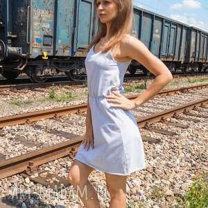 sukienki na ramiączkach sukienka bawełniana free up dress
