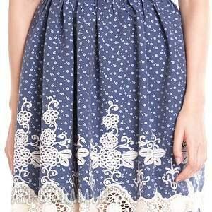 wesele sukienki niebieskie sukienka blanka