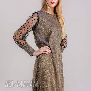 sukienki sukienka brokatowa sparkling gold