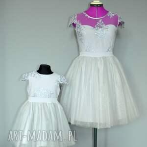 szare sukienki tiul sukienka chloe damska