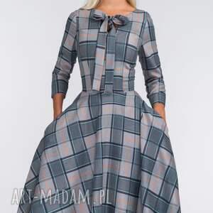 handmade sukienki kieszenie sukienka chloe midi jenna